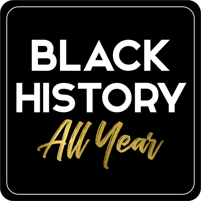 B-Stock - Black History All Year / Africa (fist)