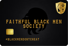 Load image into Gallery viewer, B-Stock Black Men Don't Cheat / Millionaires Club VIP Card