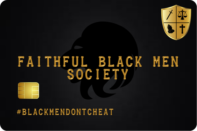 B-Stock Black Men Don't Cheat / Millionaires Club VIP Card