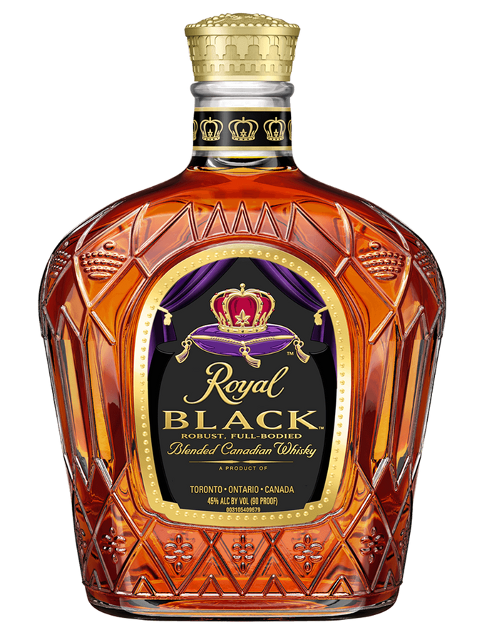Crown Royal Black Bottle Over Sized Prop