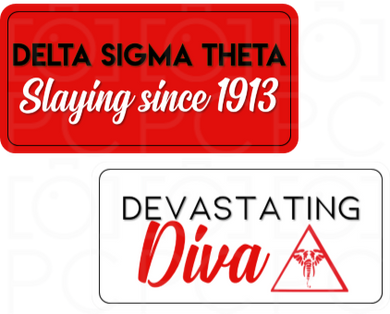 Delta Sigma Theta- Slaying since 1913 / Devastating Diva