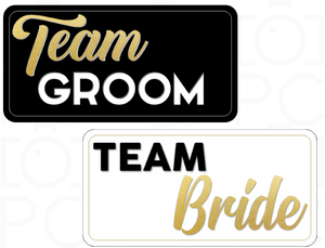 Team Groom / Team Bride