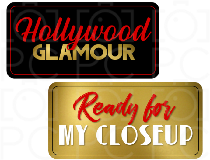 B-Stock - Hollywood Glamour / Ready for my Closeup