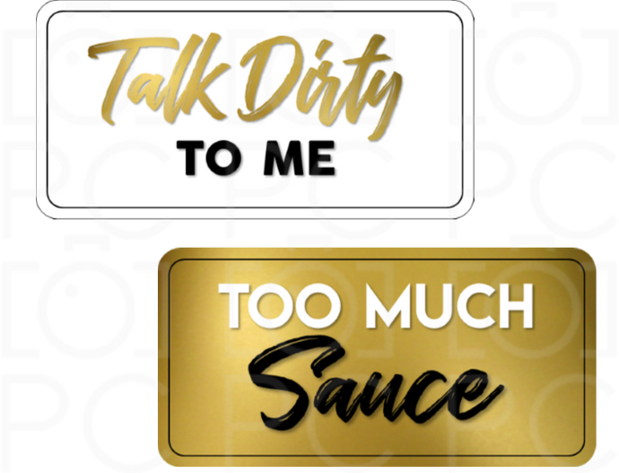 Talk Dirty to Me / Too Much Sauce