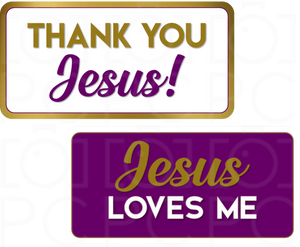 Thank You Jesus / Jesus Loves Me
