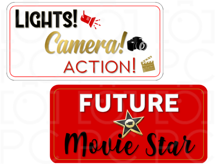 Lights! Camera! Action! / Future Movie Star