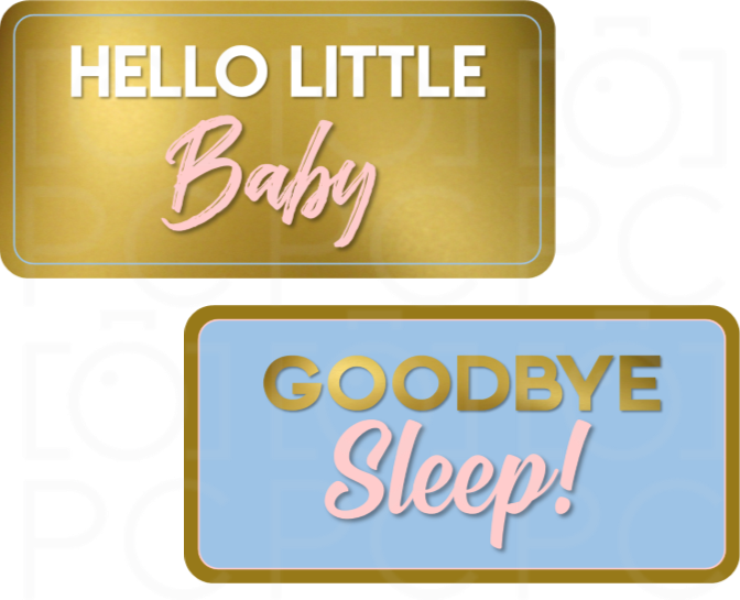 B-Stock Hello Little Baby / Goodbye Sleep