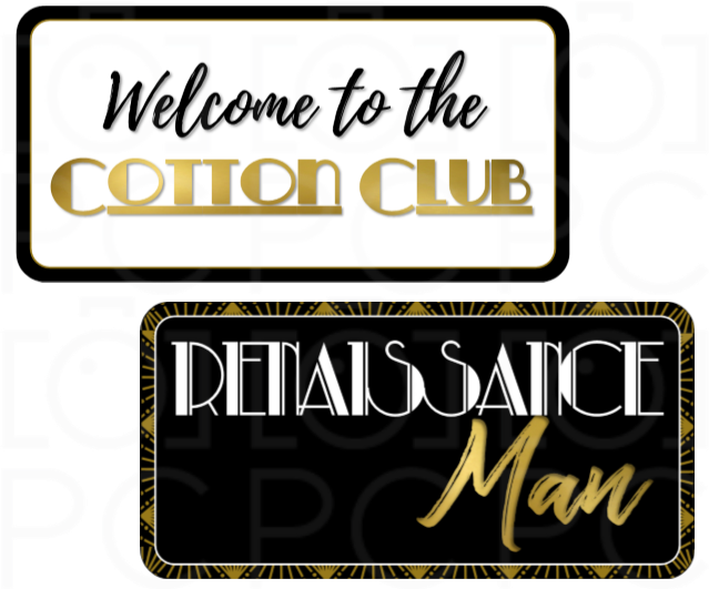 B-Stock - Renaissance Man / Welcome to the Cotton Club