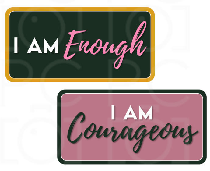 B-Stock - I am Courageous / I am Enough