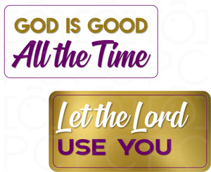 B-Stock - God is Good… All the time / Let the Lord Use You