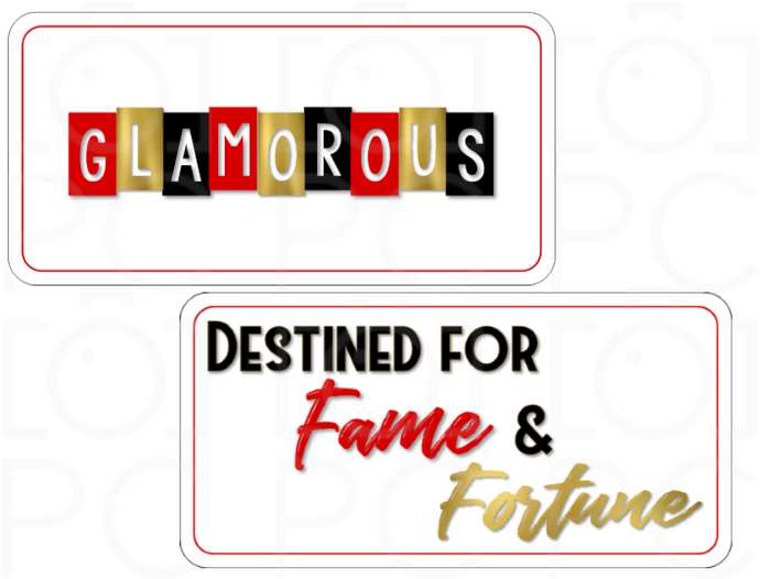 B-Stock GLAMOROUS / Destined for Fame & Fortune
