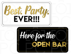 B-Stock - Best. Party. Ever / Here for the Open Bar