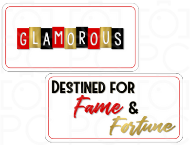 GLAMOROUS / Destined for Fame & Fortune