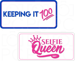 B-Stock - Keeping it 100 / Selfie Queen