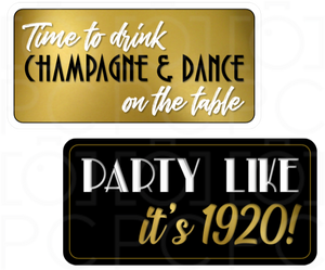 B-Stock - Time to drink Champagne & Dance on the Tables / Party like it's 1920!