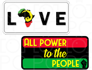 LOVE / All Power to the People