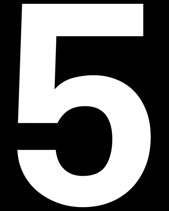 5 (Five) Number Prop