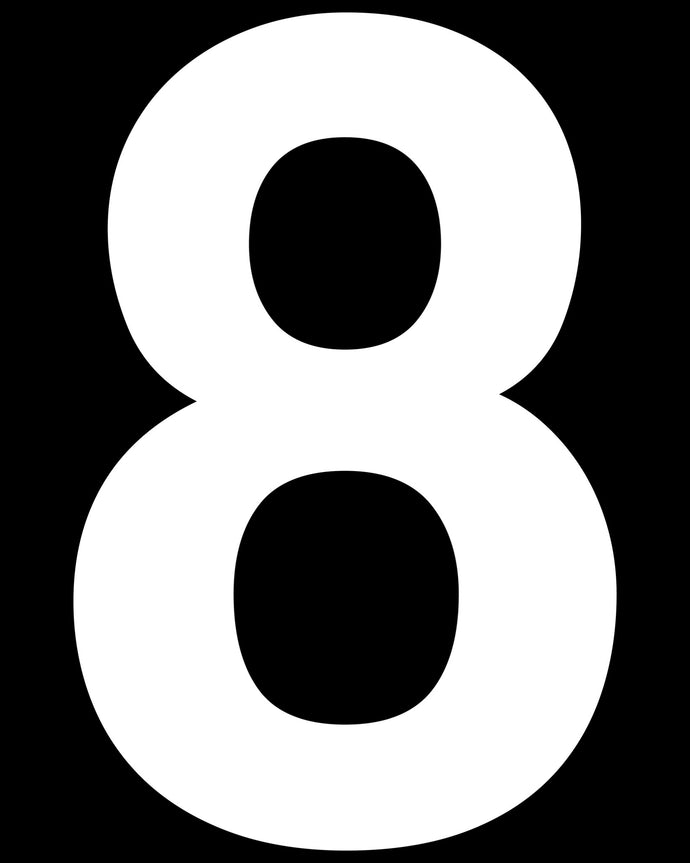 8 (Eight) Number Prop