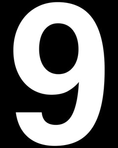 9 (Nine) Number Prop