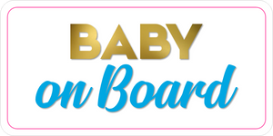 B-Stock - Congrats on your Tiny Human / Baby on Board