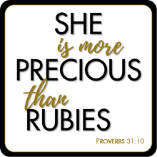 Load image into Gallery viewer, B-Stock - She is more Precious than Rubies / The Joy of the Lord is my Strength