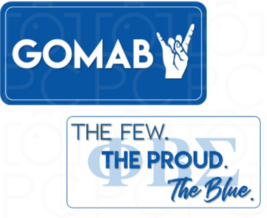 B-Stock - GOMAB / The Few. The Proud. The Blue (ΦΒΣ)