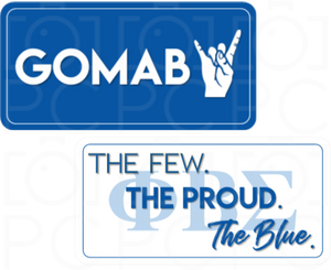GOMAB / The Few. The Proud. The Blue (ΦΒΣ)