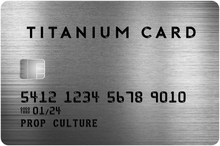 Load image into Gallery viewer, Black & Titanium Over-Sized Credit Card