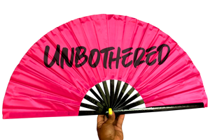Unbothered Satin Statement Fan