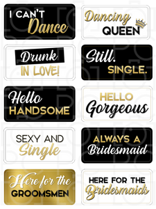 Wedding Pack - Full Set {Backordered - Available 03/15/20}