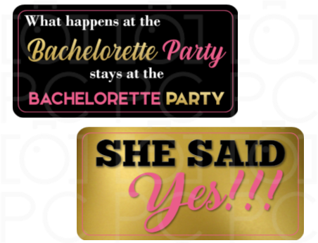 B-Stock What happens at the Bachelorette Party / She said Yes!!!