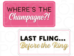 Where's the Champagne?! / Last Fling before the Ring