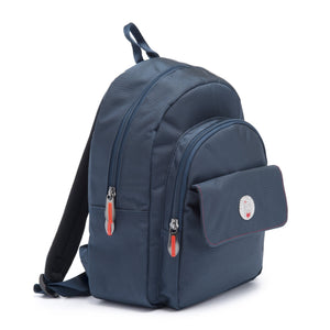 Cristina Girl Mini Backpack Nylon Koko Collection - Midnight Blue