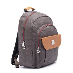 Cristina Girl Casual Daypack Ella Collection - Mocha