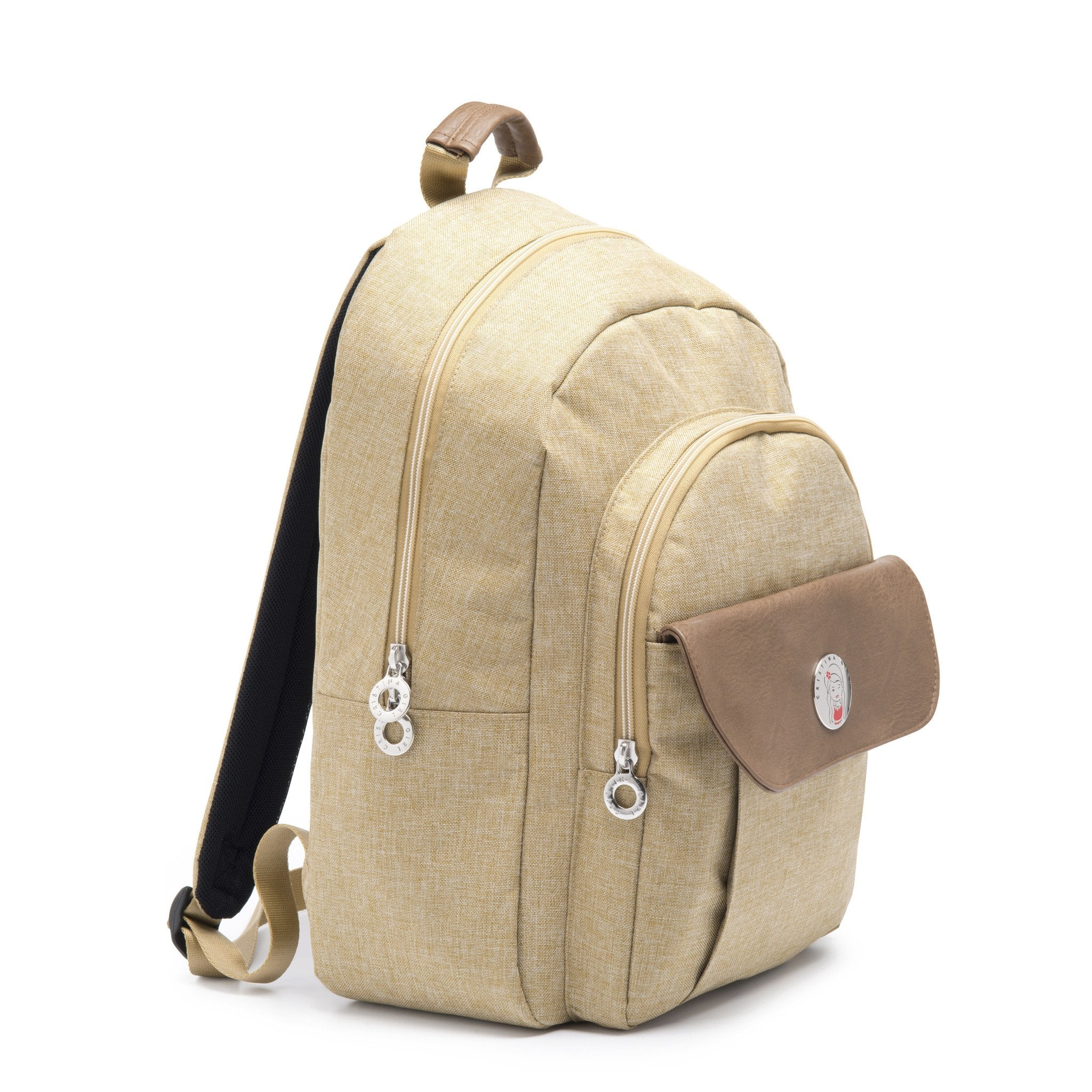 Cristina Girl Casual Daypack Ella Collection - Camel