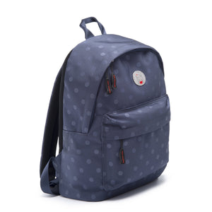 Cristina Girl Mini Backpack Nylon Ava Collection - Oxford Blue
