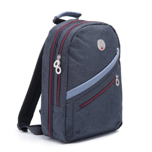 Cristina Girl Mini Backpack Ella Collection - Oxford Blue