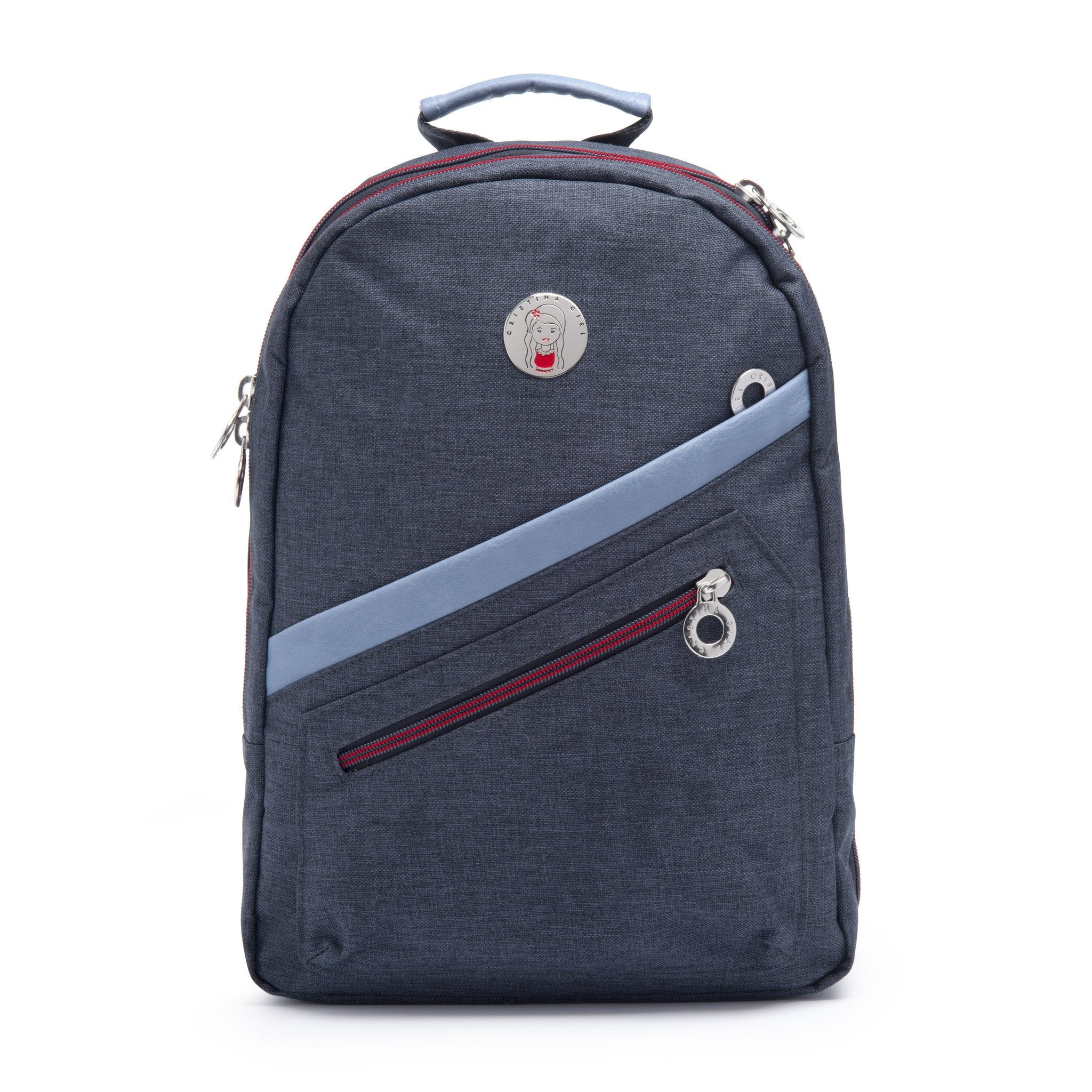 Cristina Girl Mini Backpack Ella Collection - Sapphire