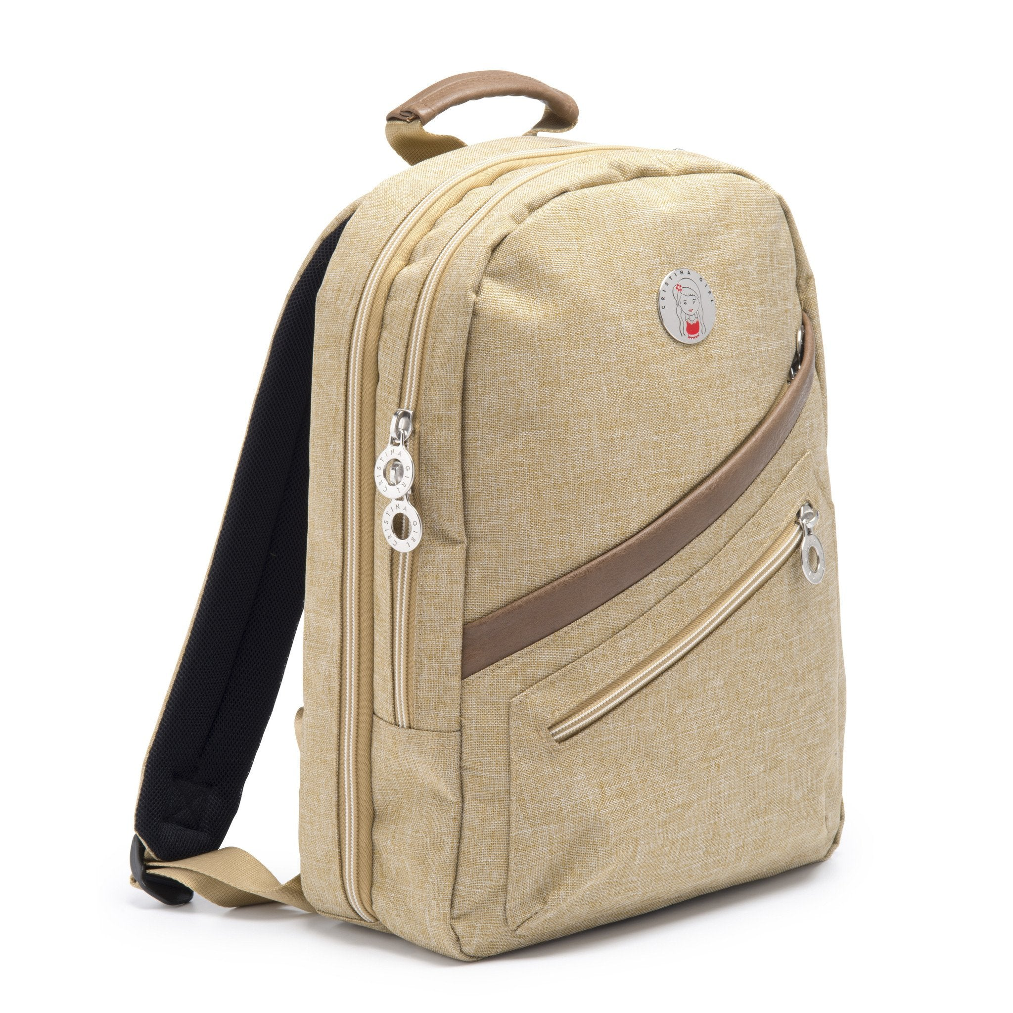 Cristina Girl Mini Backpack Ella Collection - Camel
