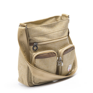 Cristina Girl Cross Body Bag Ella Collection - Camel