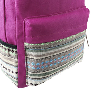 Canvas Portable Backpack for Girls