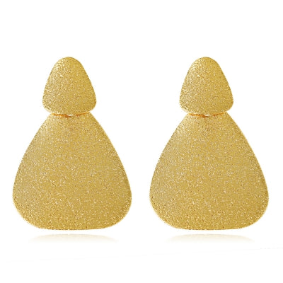 Sapphire Gold Plated Drop Earring