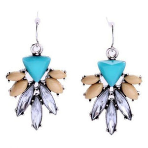 Rhinestone Decorated Earrings For Women