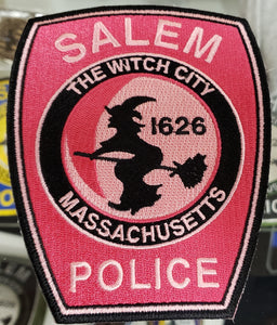 SALEM POLICE PINK PATCH