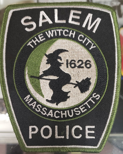 SALEM POLICE SUBDUED SWAT PATCH