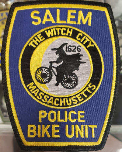 SALEM POLICE BIKE UNIT PATCH