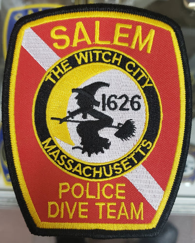 SALEM POLICE DIVE TEAM PATCH