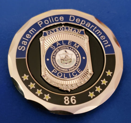 SALEM POLICE DANA MAZOLA MEMORIAL COIN *NEW*