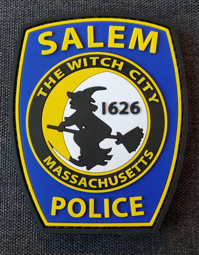 SALEM POLICE PVC MORALE PATCH *NEW*