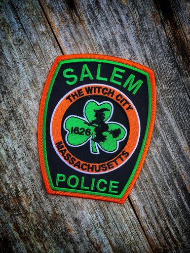 SALEM POLICE IRISH PATCH
